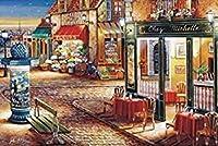クロスステッチ 大人のためのクロスステッチキット 夜の買い物 40x50cm 11CT番号別刺繍キット手作りキットパンチ針刺繍DIY初心者向け手作りスターターキット