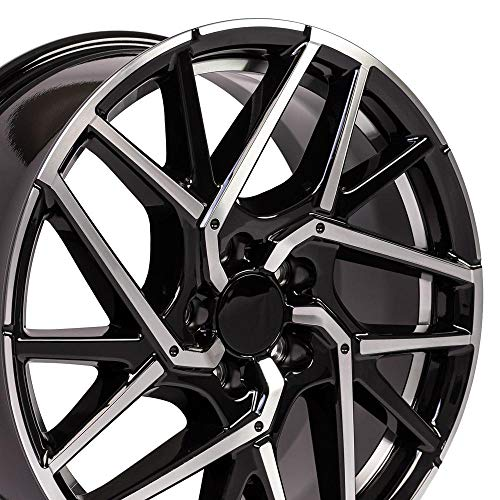 OE Wheels LLC 18 Inch Fits Honda Civic Accord CR-Z Acura CL ILX TSX HD06 Gloss Black Undercut...