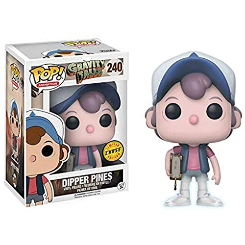 Funko Pop Animation : Gravity Falls - Ghost Dipper Pines 3.75inch Vinyl Gift for Anime Fans SuperCollection