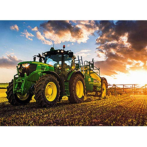 Amazingdeal 5D DIY Full Drill Diamond Painting Tractor Cross Stitch Embroidery Mosaic