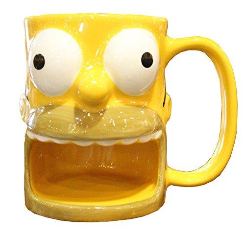 Universal Studios Homer Simpson Donut Holder Mug