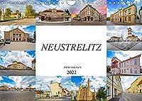 Neustrelitz Impressionen (Wandkalender 2022 DIN A4 quer): Zwoelf einmalige Bilder der Residenzstadt Neustrelitz (Monatskalender, 14 Seiten )