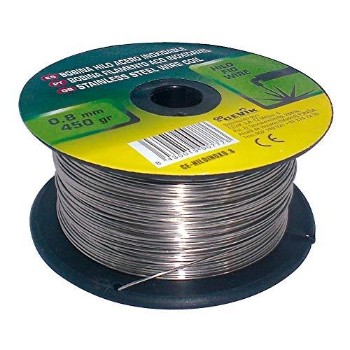 Cevik CE-HILOALU0,8 - Bobina hilo aluminio 0,8 mm. 450 gr.