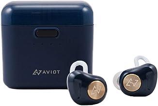 AVIOT アビオット 日本のオーディオメーカー TE-D01d Bluetooth イヤホン 高音質 グラフェンドライバー搭載 完全ワイヤレス QCC3026チップ iPhone android 対応 (ネイビー)