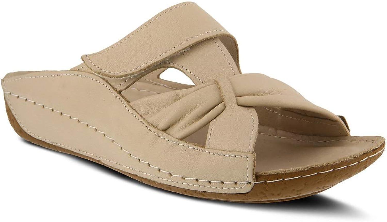 Spring Step Women's Gretta Sandals   color Beige   Leather Sandals