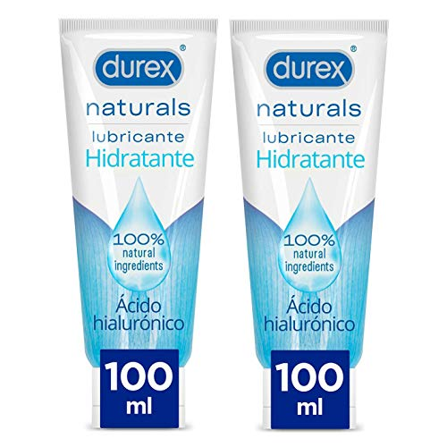 Lubricante Intimo Durex Naturals Hidratante 100 ml x 2 Unidades