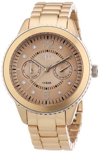 Esprit Damen-Armbanduhr marin Analog Quarz Aluminium S.ES105802006