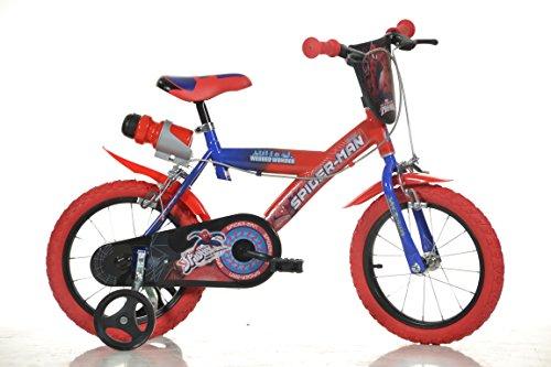 Dino Bikes - Bici Bicicletta di Spiderman Movie per Bambini 14' Nuovo Modello 2014