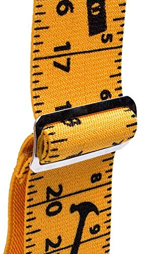 Mens Suspenders Adjustable Elastic,Heavy Duty 2 Inch Wide X Back Suspenders with 4 Strong Clips
