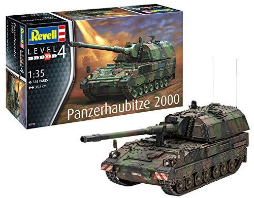 Revell GmbH Revell 03279 3279 - Kit de Modelos de plástico Panzerhaubitze 2000, Multicolor, 1/35