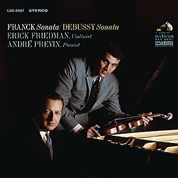 Franck: Violin Sonata in A Major,FWV8 & Debussy: Violin Sonata in G Minor, L. 140
