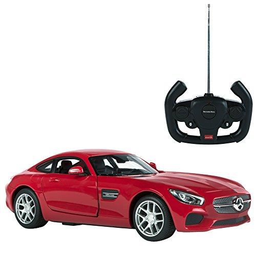 Rastar - Coche teledirigido 1:14 Mercedes AMG GT, Rojo (85000) , color/modelo surtido