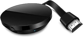 WiFi Dongle inalámbrico con Pantalla,HDMI 1080P Digital TV Adaptador de Receptor, Soporte del Sistema Android para Google ...