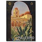 LaMAGLIERIA Hochqualitatives Poster - Palermo Italian