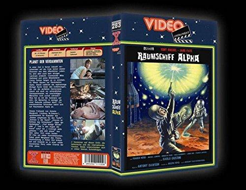 RAUMSCHIFF ALPHA - Planet der Verdammten ( Wild Wild Planet ) LIMITED DVD - VHS RETRO BUCHBOX EDITION