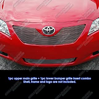 APS Compatible with 2007-2009 Toyota Camry LE Billet Grille Combo N19-A04878T
