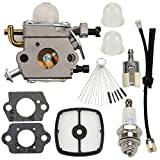 Wellsking C1U-K78 Carburetor for Echo A021000940 Shred N Vac ES210 ES211 EB212 SV212 PB200 PB201 PB-200 PB-201 ES-210 Shredder with Air Filter Fuel Line Filter