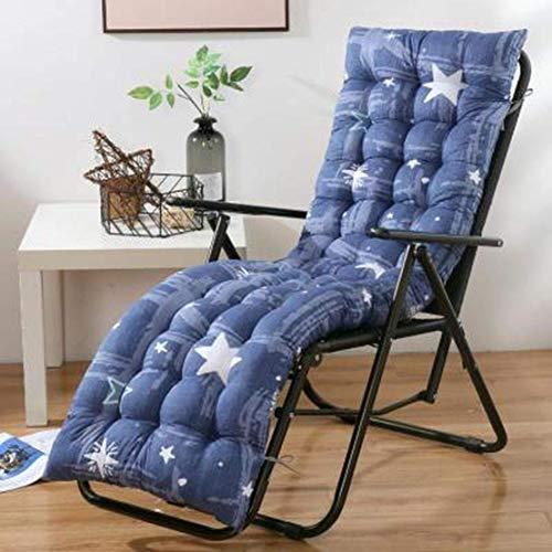 JGHF Cojín de color sólido suave y cómodo para silla de oficina, cojín de silla reclinable, cojín largo, varios tamaños disponibles (estilo 23 sin silla, 48 x 120 cm)