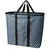 CleverMade Collapsible Laundry Basket, Large Foldable Clothes Hamper Bag, SnapBasket LaundryCaddy...