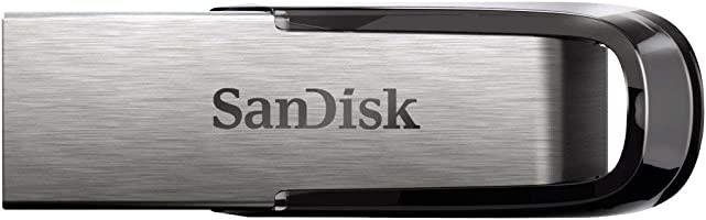 SanDisk Ultra Flair Memoria flash USB 3.0 de 64 GB, con carcasa de metal duradera y elegante y hasta 150 MB/s de...