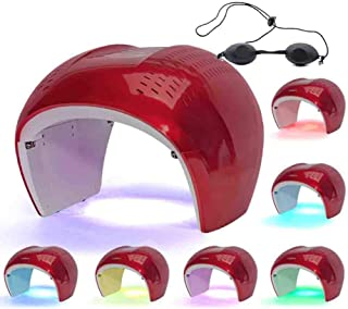 Foldable Light Therapy Mask Machine PDT Acne Wrinkle Anti-Aging Facial Care Beauty Treatment for Home Salon Use 7 Color