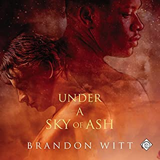 Under a Sky of Ash audiobook cover art