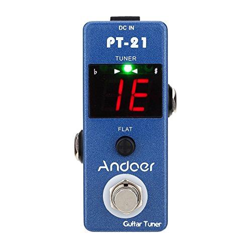 Andoer® Pedal afinador True Bypass