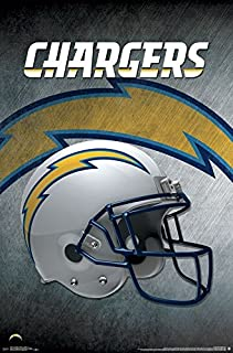 Trends International Los Angeles Chargers Helmet Wall Poster 22.375