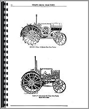 Service Manual International Titan 10-20 Tractor w/ water barrel on front