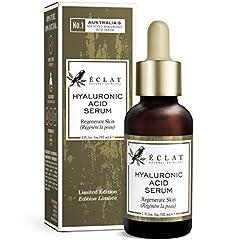 THE SIEGER 2020 BIO Hyaluronic Acid Serum - 8 gånger effektivare anti-ageing serum med 2% HA + 10 Antioxidanter - Hydrating / Förstärkning - 100% VEGAN / Rekommenderas av Dermatologists
