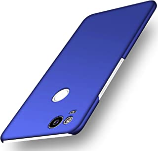 Avalri Thin Fit Google Pixel 2 Case with Silky Surface and Minimalist for Google Pixel 2 2017 (Silky Blue)