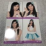 AKB48 小嶋菜月 月別生写真 2012.August 8月 復刻版 4種