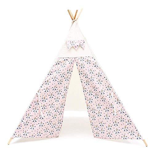 YASE-king Children Play Tent Children's Indoor Corner Anti- Tent Garden Play House Foldable Kids Girls Tent Canvas Tipi Baby Reading Toys for Girls/Boys Kids