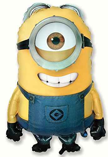 Ballonim® Minion Stuart Ballon -XXL Riesenballon ca. 86cm Luftballons Folienballon Party DekorationGeburtstag