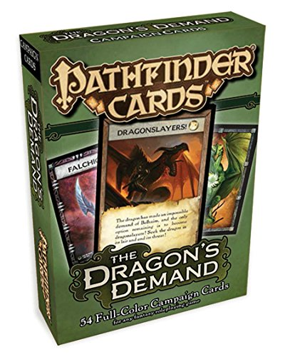 Pathfinder Campaign Cards: The Dragon's Demand