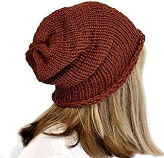 f9e5cc37b0df5d Amazon.com: Brown - Beanies / Hats & Caps: Handmade Products