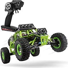 【Powerful & Amazingly Fast】- Thanks to the powerful brush 540 motor largest in class you can break the speed limit up to 32MPH(50KM/H) and enjoy the feeling of speed. 【Easy To Control】- 1:12 proportational 4 Wheel Drive independent suspension system ...