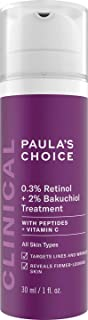 Paula's Choice Clinical 0,3% Retinol & 2% Bakuchiol Treatment - Anti Aging Serum Verzacht Rimpels & Vervaagt Pigmentvlekke...