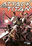 Attack on Titan 32: Atemberaubende Fantasy-Action im Kampf gegen grauenhafte Titanen