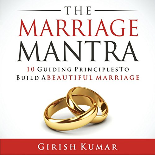 The Marriage Mantra audiobook cover art