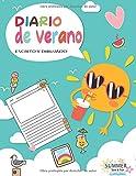 Diario de verano: un diario guiado lleno de diversión que permite a los niños   Escribe tus vacaciones para hacerlas inolvidables 120 PÁGINAS