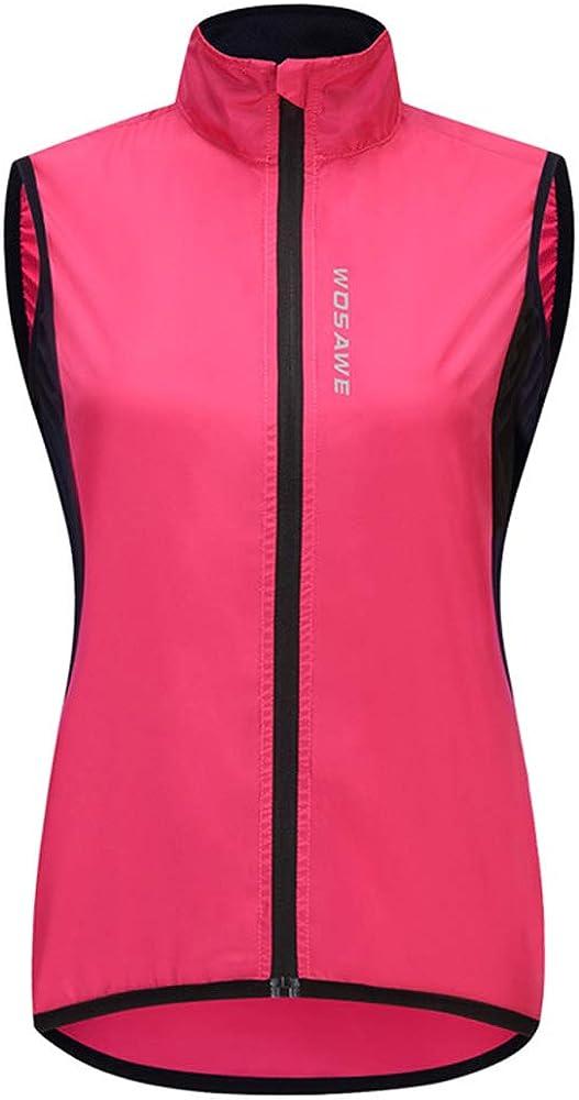 Women Cycling Vest Windproof Sleeveless Runni Jacket Ranking Max 56% OFF TOP10 Lightweight