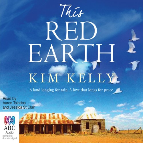 This Red Earth audiobook cover art