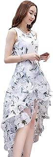 レディーズ ファッション 夏 オーガンザ ノースリーブ 中長セクション セレブリティ気質 ロングスカート スリムとスリム スカート 妖精の王女のドレス アゲハチョウドレス 気質 リトルドレス S-2XL