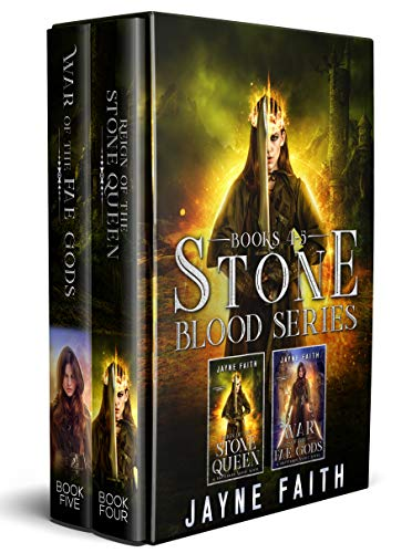 Stone Blood Series Books 4 & 5 Box Set (Stone Blood Series Collections Book 2)