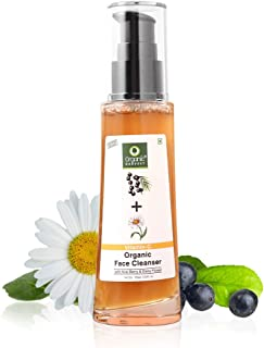 Organic Harvest Skin Illuminate Vitamin C Cleanser Face Wash for Tightening, Whitening & Brightening Skin, Infused With Ac...