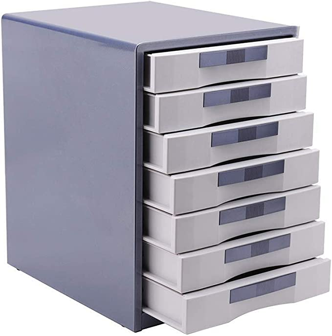 30X35X30.8CM,30X35X41CM Home Office Furniture Color : A, Size : 303541CM File Cabinets Floor Plastic Desktop Office Supplies File Box High Capacity Applicable Places Metal Material