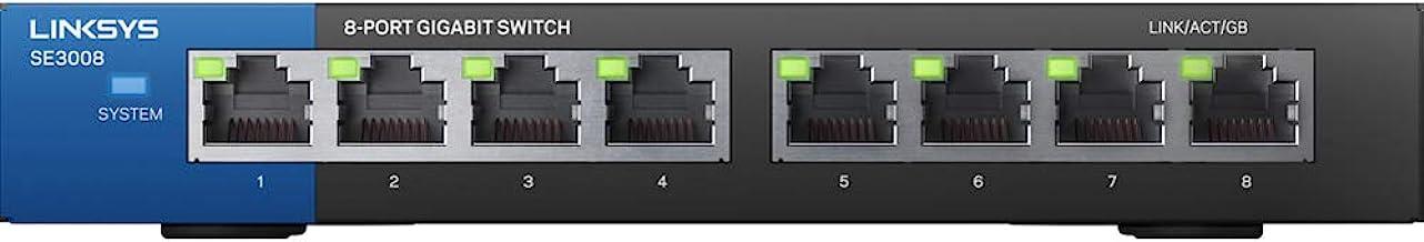 $46 Get Linksys 8-Port Metallic Gigabit Switch (SE3008)