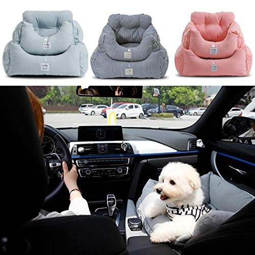 YAOUFBZ Dog Car Seat,Safety Pet Car Booster Seat,Sofa for Dogs Cats Or Other Small Pet(Four Colors are Available)