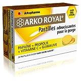 Arkopharma Arko Royal Pastilles Adoucissantes Pour la Gorge 24 Pastilles - Miel Citron